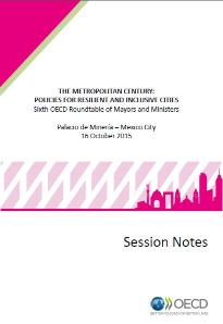 Cover: 6th Roundtable session notes in English