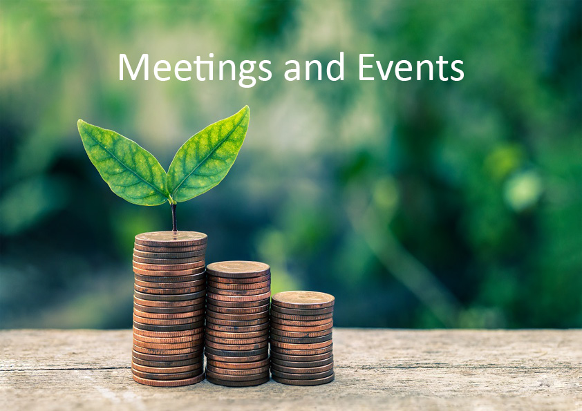 Green budgeting Meetings and Events page pic