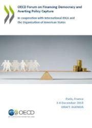 Financing Democracy Forum Agenda Cover 2014