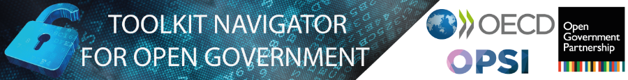 Banner Open Government Toolkit Navigator