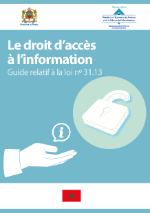 Right to access information in Morocco (Cover FR)