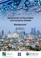 Symposium on Innovation and Inclusive Growth, 20-21 March 2014: Background cover page