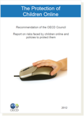 Cover page of the Booklet on the Protection of Children Online