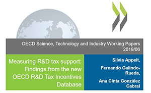 Measuring R&D tax support: Findings from the new OECD R&D Tax Incentives Database