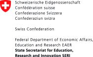 Swiss Confederation Federal Department of Economic Affairs, Education and Research State Secretariat for Education, Research and Innovation