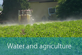 Water satellite site Button agriculture