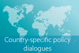 Button country-specific policy dialogues