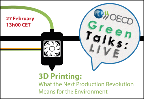 Green Talks Live 3D Printing