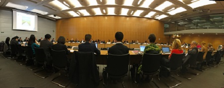 Photo from First meeting of the Roundtable on Financing Water