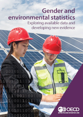 Cover gender and environmental statistics