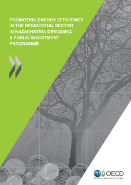 Cover page for the report on Promoting energy efficiency in the residential sector in Kazakhstan: designing a public investment programme (2011)