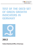 Green Growth indicators in Germany