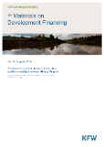 Research Collaborative - Cover page - Materials on Development Financing