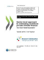 Research Collaborative - WKP No 98 Sector-level approach to estimating mobilised private climate finance (cover page)