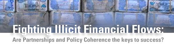 Banner for PCD Side event during the FFD3 Conference in Addis Abbaba: Fighting Illicit Financial Flows organised by OECD
