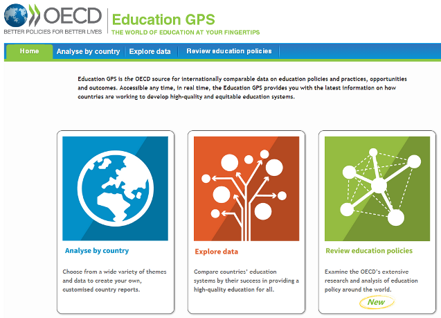 Education GPS portal