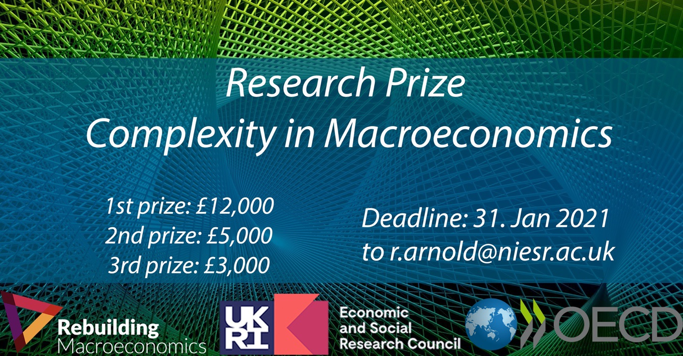 Research Prize Complexity in Macroeconomics - prizes and deadline