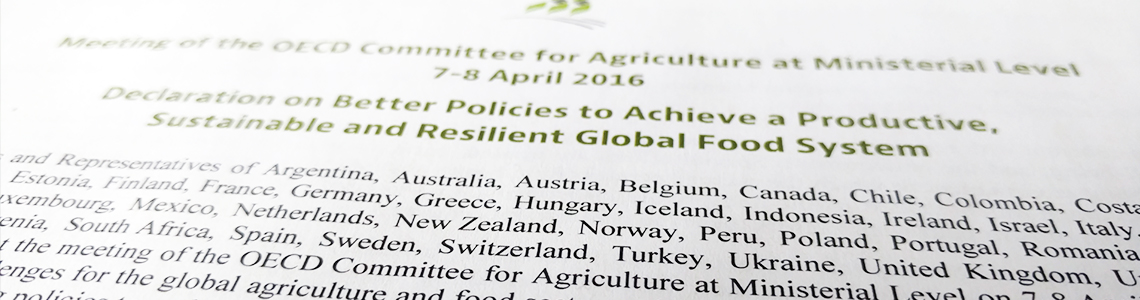 Statements Oecd Meeting Of Agriculture Ministers 2016