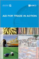 Cover of Joint OECD/WTO publication Aid for Trade in Action