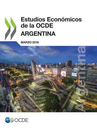 Book cover of the Argentina Economic Review of 2019 in Spanish