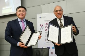 OECD and Kazakhstan sign a renewed MoU, 21 November 2018