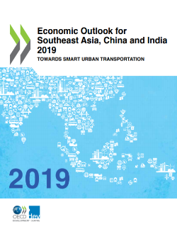 Economic Outlook for Southeast Asia China and India 2019