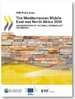 SME Policy Index 2014 - Mediterranean Middle East and North Africa - cover