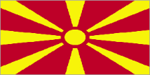 The former Yugoslav Republic of Macedonia flag