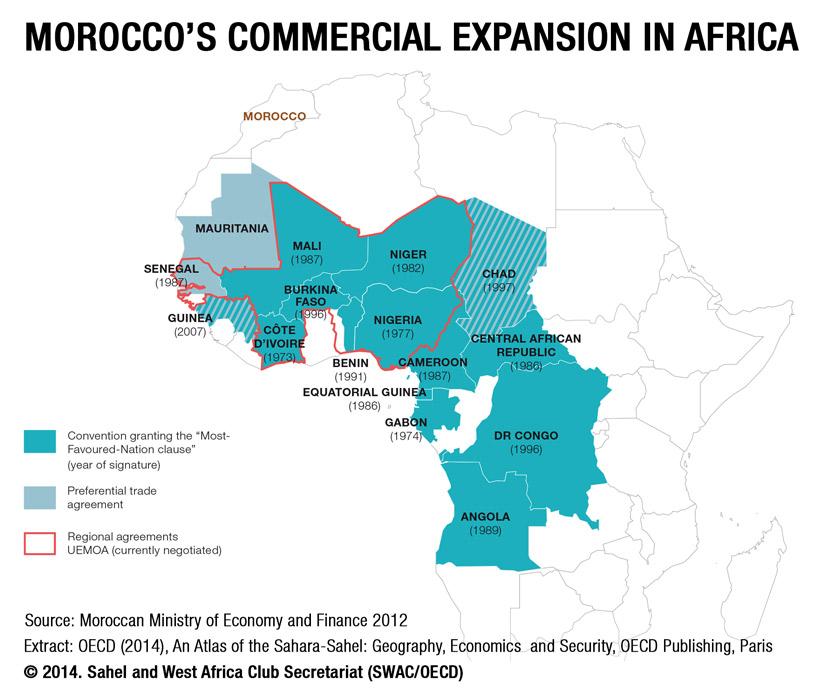 Maps Sahel And West Africa Club Secretariat