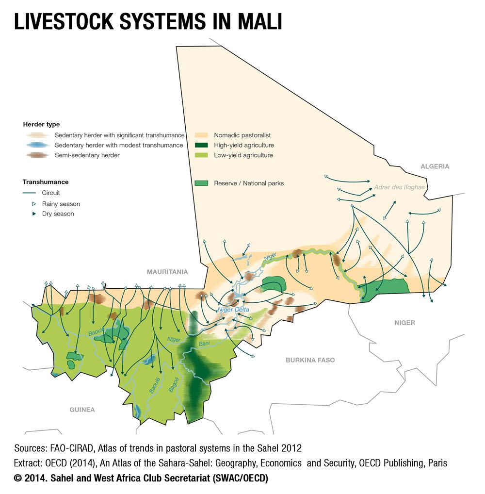 Maps - Sahel and West Africa Club Secretariat