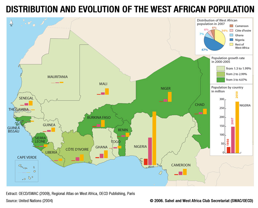 Map Of Africa 1950.Maps Sahel And West Africa Club Secretariat