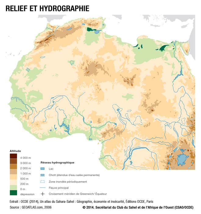 Carte Afrique Ouest Et Centre.Cartes Club Du Sahel Et De L Afrique De L Ouest Csao