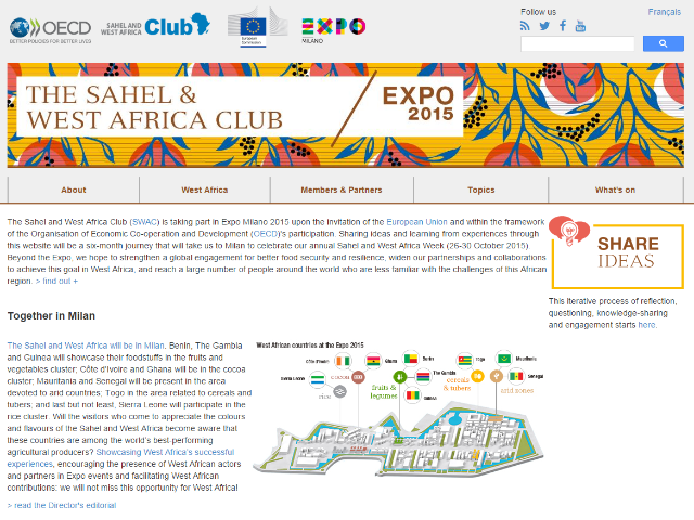 screenshot for Expo page