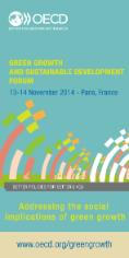 Vertical flyer for GGSD Forum 2014 without the mention SAVE THE DATE.