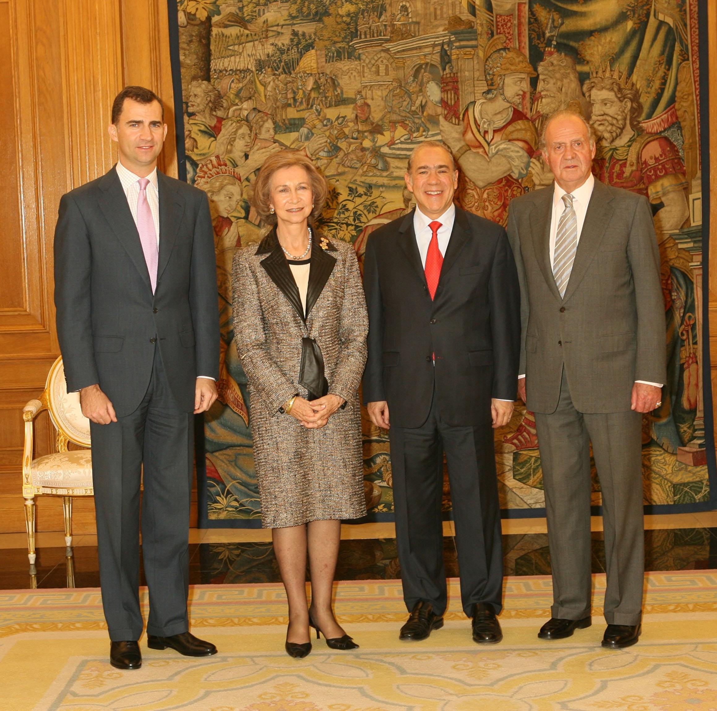 Secretary-General with Spanish Royal Family